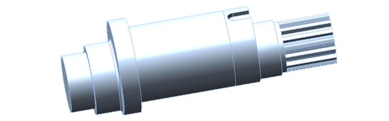 颗粒机偏心轴